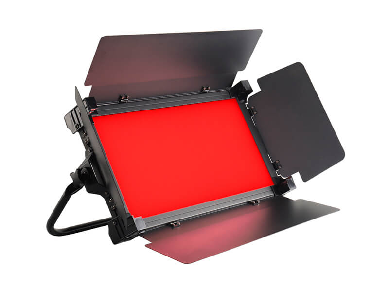 Colorful Video Taking RGB and Bicolor LED Video Panel Light