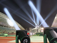 5000W Moving Head Searchlights have been used in One National Stadium Project in USA